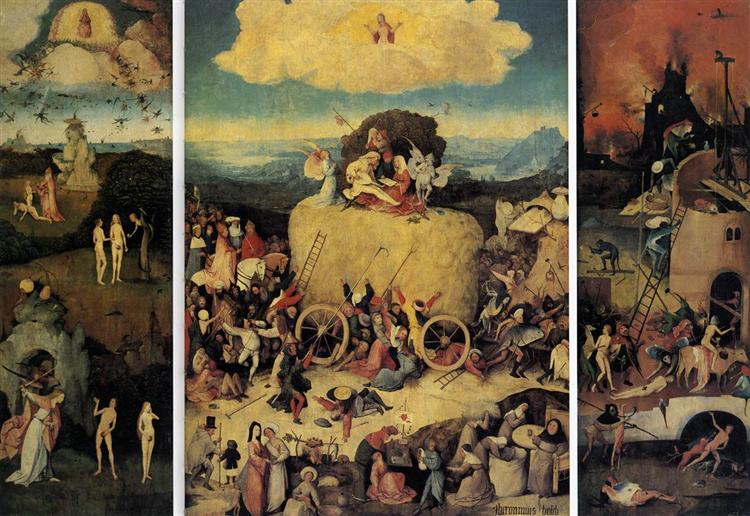 Haywain - Hieronymus Bosch
