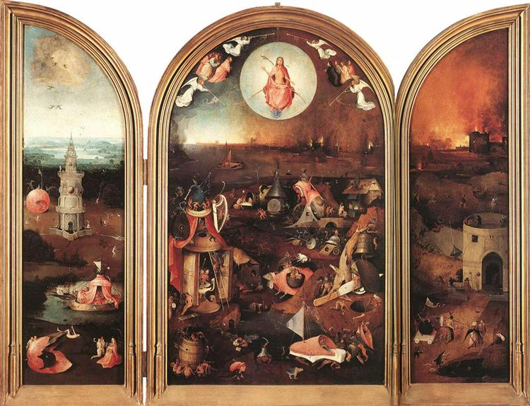 Last Judgement, 1486 - Hieronymus Bosch