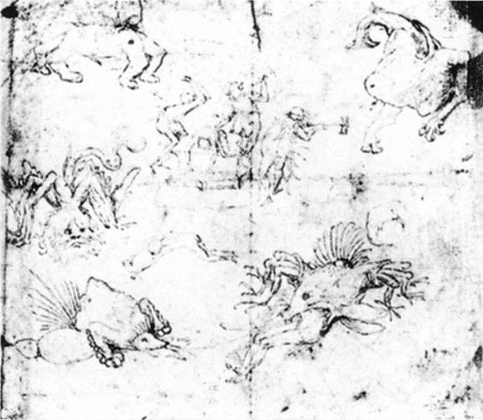Scenes in Hell - Hieronymus Bosch
