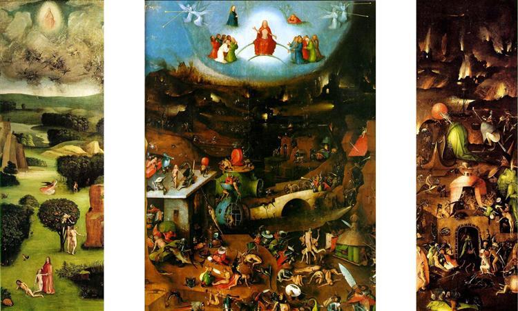 The Last Judgement, 1482 - Hieronymus Bosch