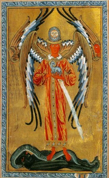 First Vision. Fiery life-force - Hildegard of Bingen