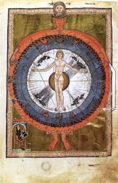 Second vision. Adam as Mankind - Hildegard of Bingen