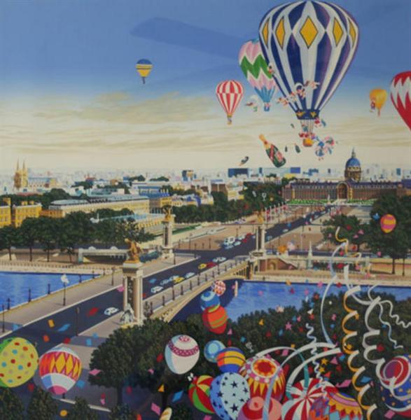 Balloon Race, 1990 - Хіро Ямагата
