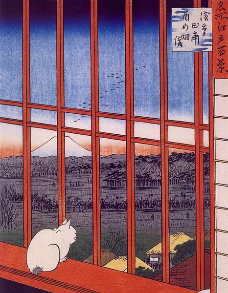 Otori Shrine - Hiroshige