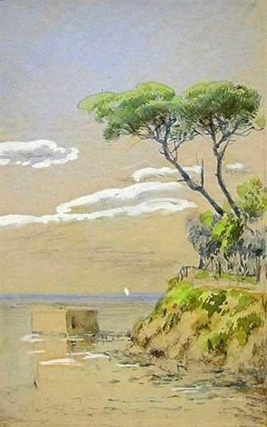 Watercolor - Hoca Ali Riza