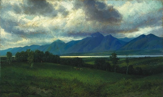 Down in the Laurentides, 1882 - Homer Watson