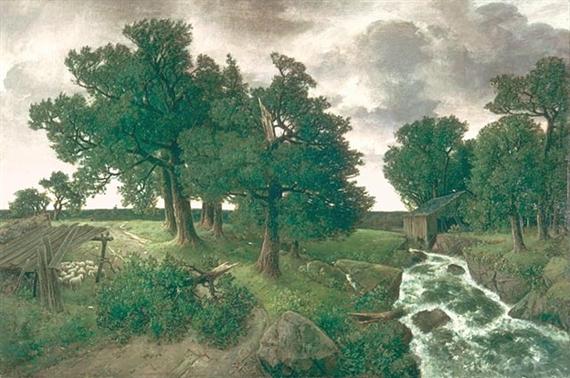 Evening after the Storm, 1887 - Homer Watson