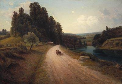 The Stone Road, 1881 - Homer Watson
