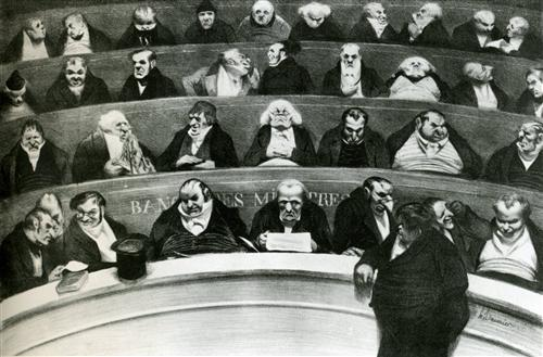 The Legislative Belly - Honore Daumier