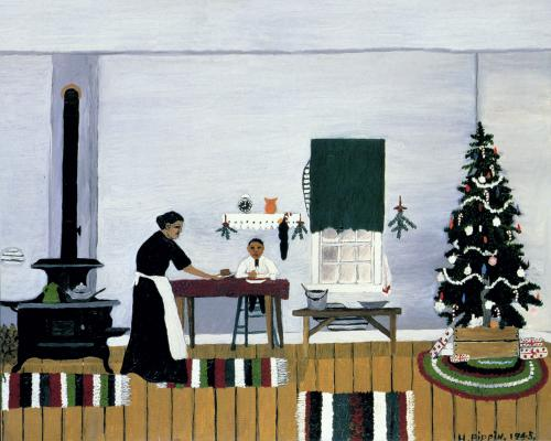 Christmas Morning Breakfast - Horace Pippin - WikiArt.org