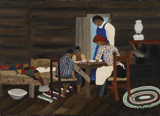 Giving Thanks, 1942 - Horace Pippin