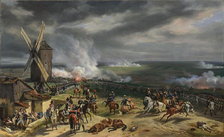 The Battle of Valmy (September 20th 1792), 1835 - Horace Vernet