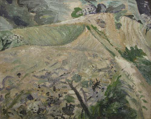 Hills at Poiana Mărului, 1966 - Horia Bernea