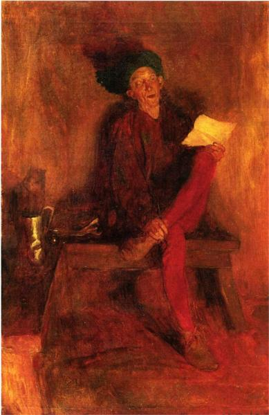 Villon - The Singer Fate Fashioned to Her Liking - Howard Pyle