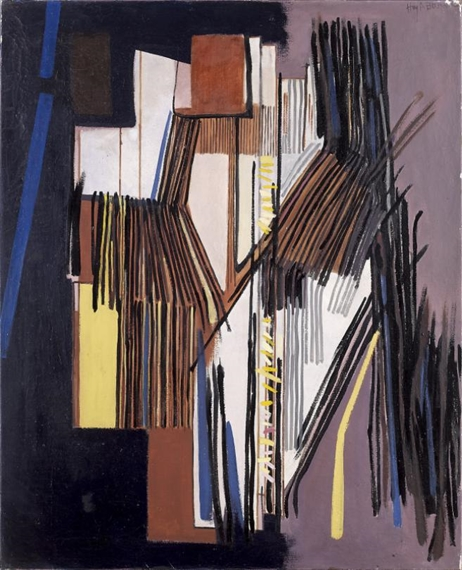 Composition, 1954 - Huguette Arthur Bertrand