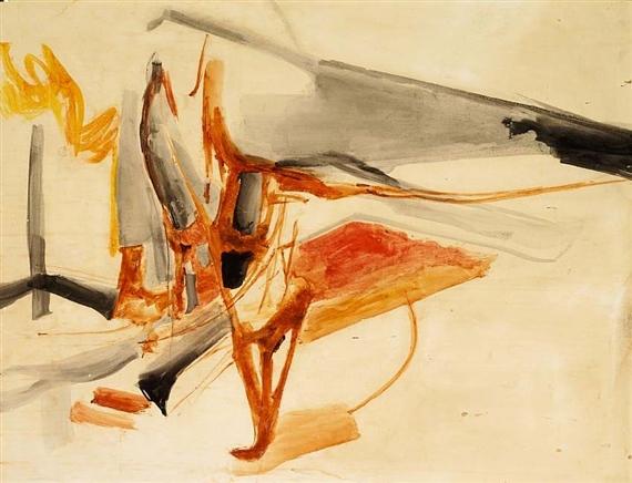 Composition, 1963 - Huguette Arthur Bertrand