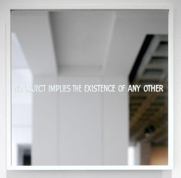 No object implies the existence of any other, 1967 - Ian Burn
