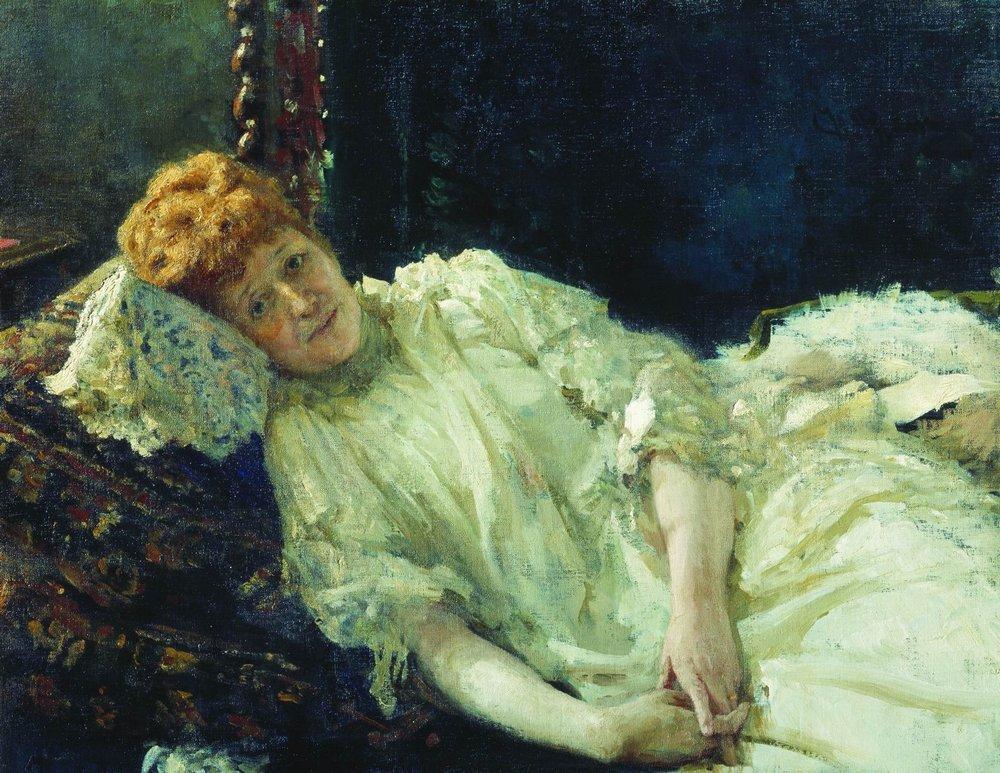 Portrait of Luiza Mersi D'arzhanto, 1890