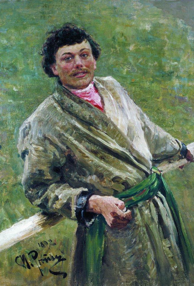 Portrait of Sidor Shavrov, 1892