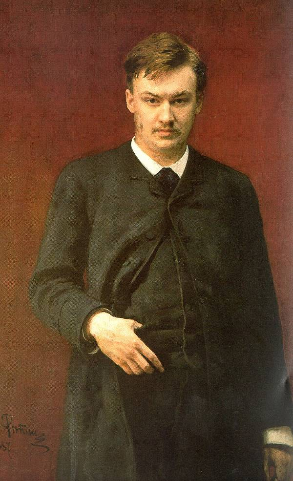 Portrait of the Composer Alexander Glazunov, 1887