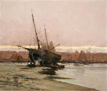 Boat at the beach - Ioannis Altamouras