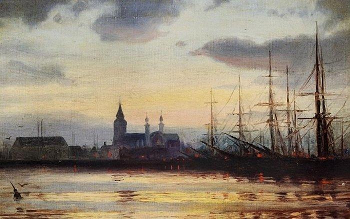 Evening in the Harbour - Иоаннис Алтамурас