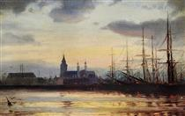 Evening in the Harbour - Ioannis Altamouras