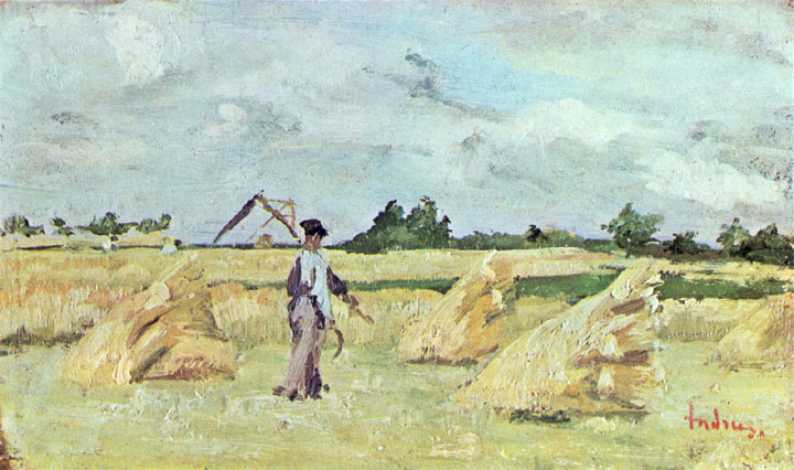 Haymaking - Ion Andreescu