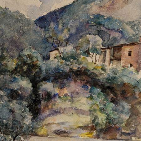 Mountain landscape - Ion Andreescu