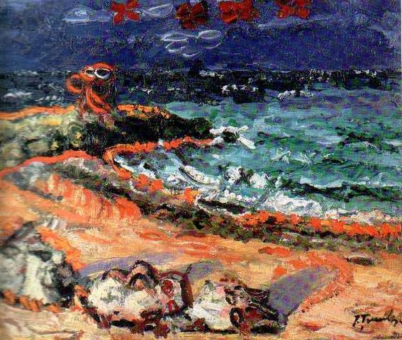 Marina at Mangalia - Ion Tuculescu
