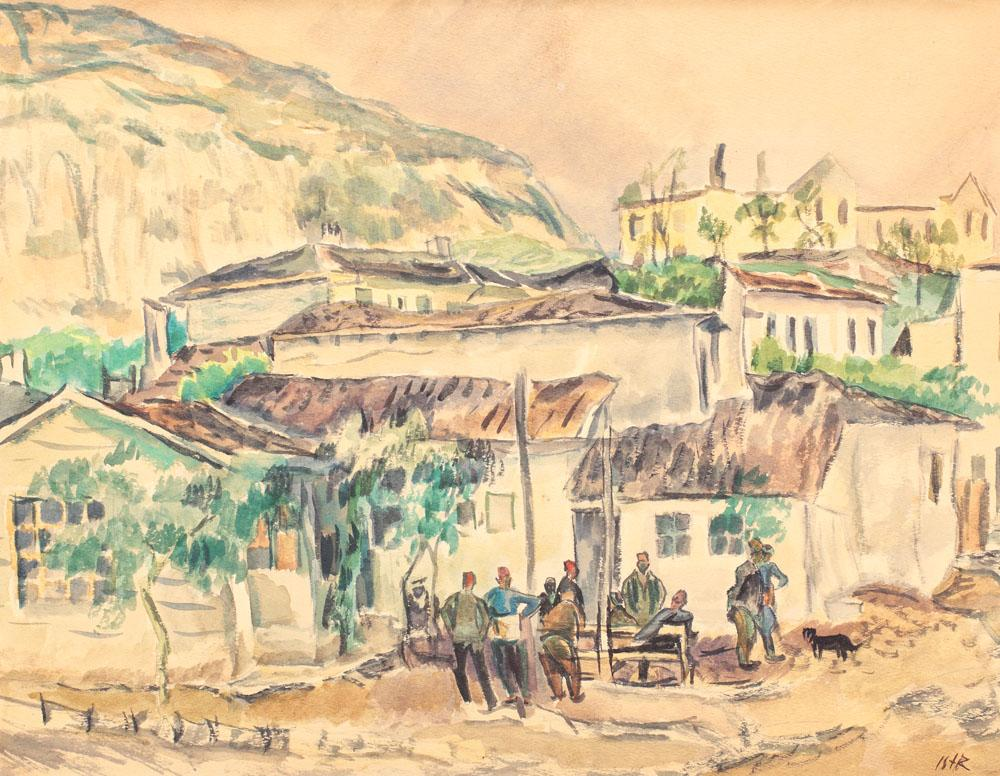 Turks at the Cafe, 1925