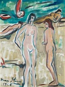 Bathers - Irma Stern