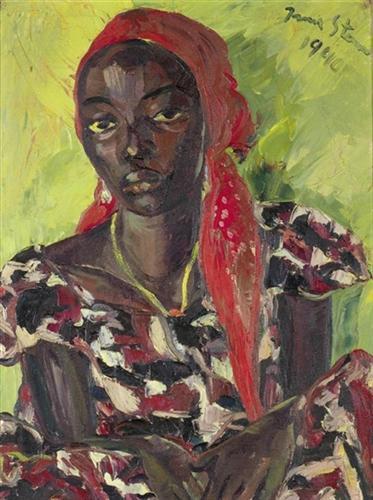 Congolese Beauty - Irma Stern