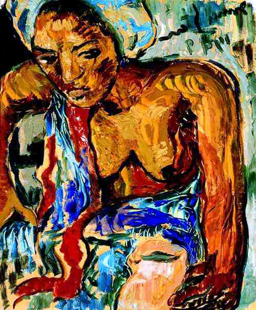 Irma Stern The Hunt Woman With a Jug Irma Stern