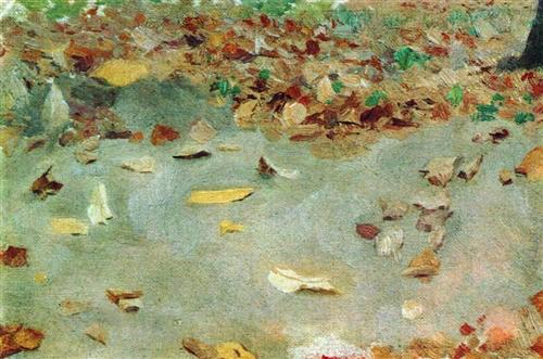 Autumn leaves - Isaac Levitan