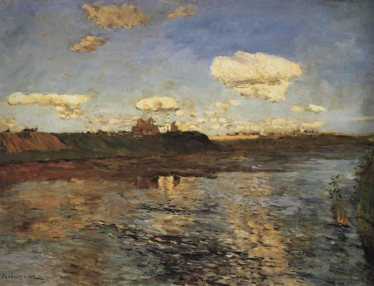 The Lake, c.1899 - Isaak Iljitsch Lewitan