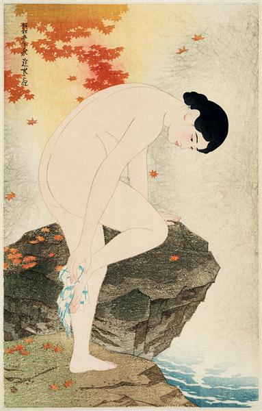 The Fragrance of a Bath, 1930 - Ito Shinsui