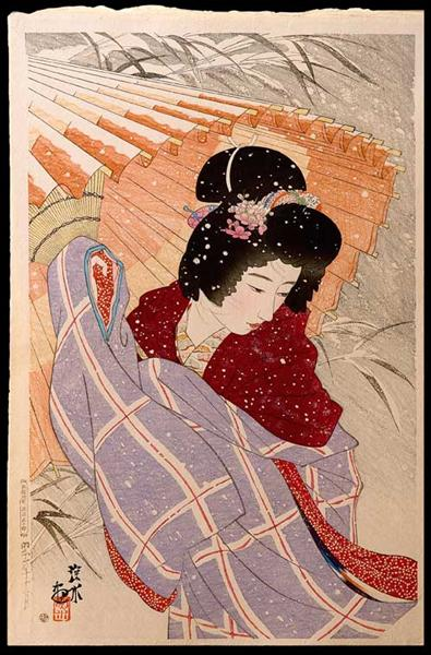 The Snow Storm, 1932 - Ito Shinsui