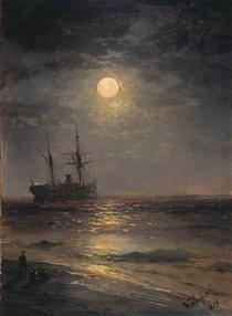 Notte lunare - Ivan Aivazovsky