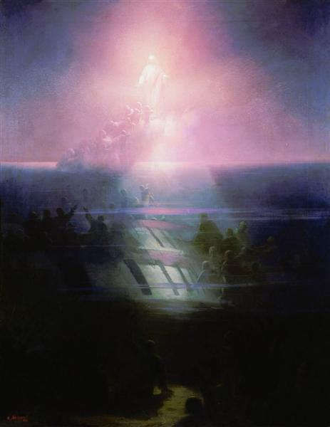 Shipwreck of Lefort, 1858 - Ivan Aivazovsky