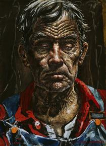 A Face from Georgia - Ivan Albright