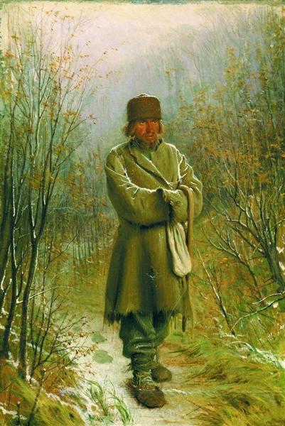 Contemplator, 1876 - Ivan Kramskoy