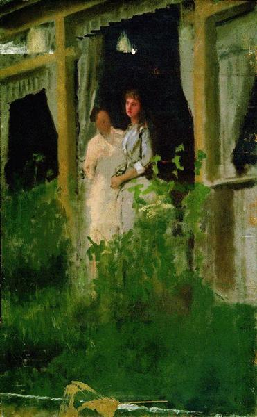 Convalescent, 1885 - Ivan Kramskoy