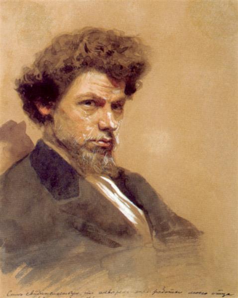 Portrait of theArtistV.M. Maksimov - Ivan Kramskoy