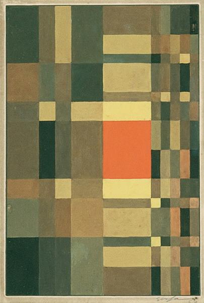 Geometric Composition, 1956 - Ivan Serpa