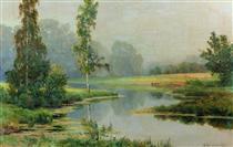 Misty Morning - Іван Шишкін