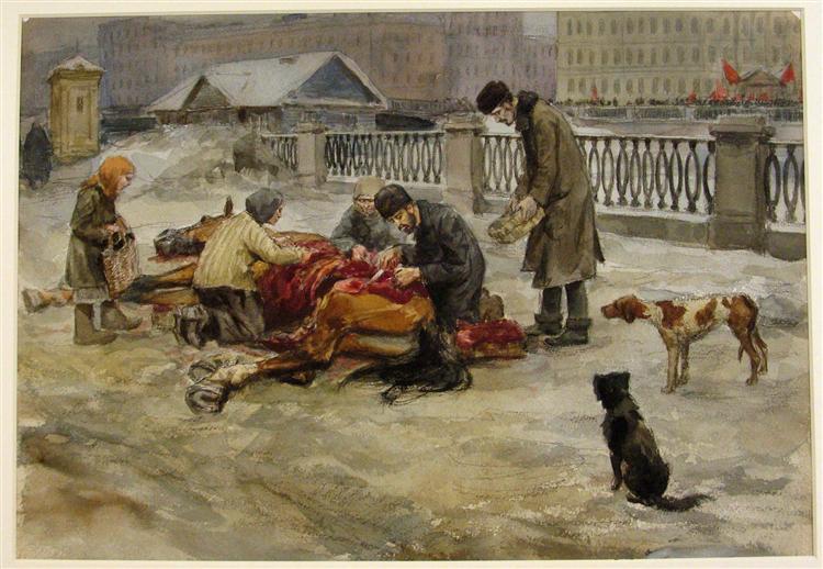 Famine - Ivan Vladimirov