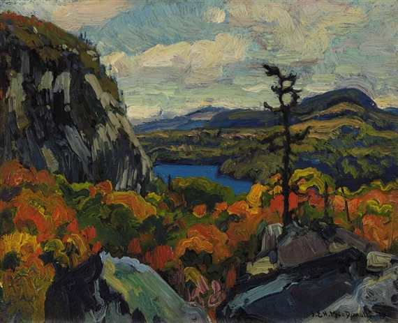 Early Autumn, Montreal River, Algoma - J. E. H. MacDonald