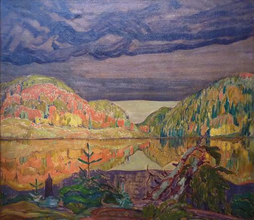 October Shower Gleam, 1922 - J. E. H. MacDonald