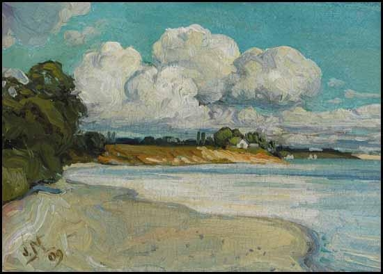 On the Lake Shore Near Bronte, 1909 - J. E. H. MacDonald